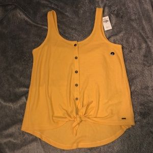 💜2 For $25💜 NWT Hollister Button Up Tank Top